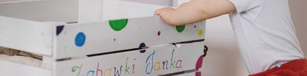 Детски кош за играчки оригинална идея за кръщение