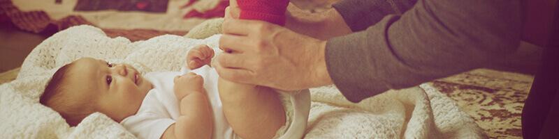 Комплект за сменяне на памперси кръщене на внуче подарък
