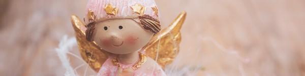 Ангелче (свещ или фигурка) подаръци за гостите на кръщене
